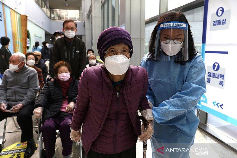 Warga Korsel tak perlu pakai masker jika telah disuntik vaksin COVID-19