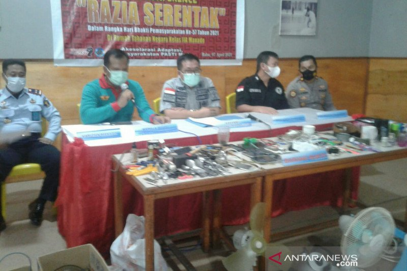 Kemenkumham Sulut telusuri barang terlarang milik  WBP Rutan Manado