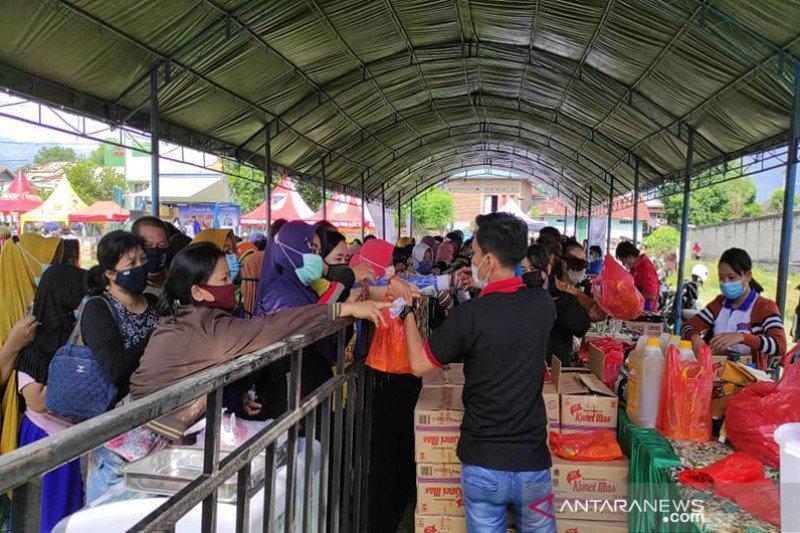 Masyarakat Palu serbu pasar murah ramadhan 2021