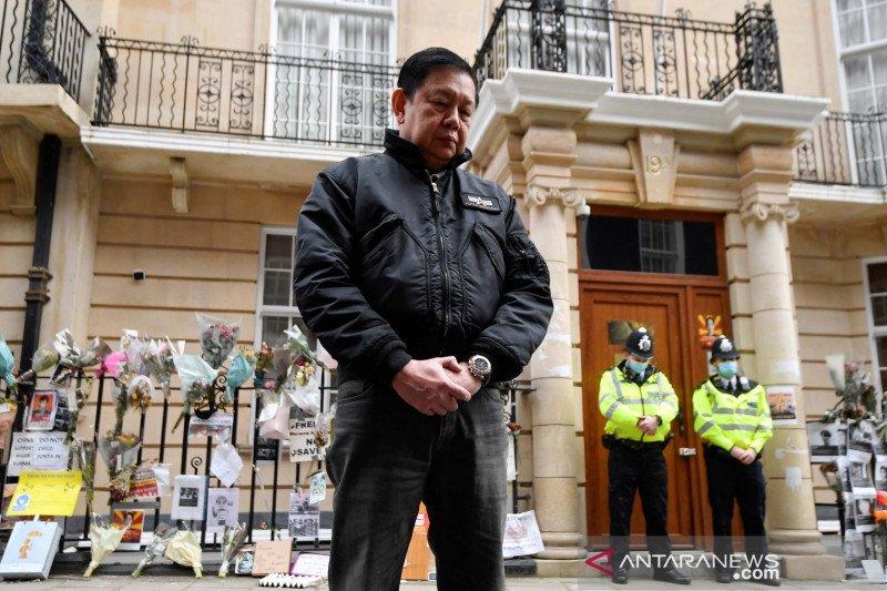 Pemerintah Inggris izinkan Dubes Myanmar Kyaw Zwar Minn untuk tetap tinggal