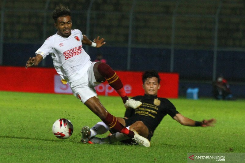 Penjaga gawang Hilman Syah kunci kemenangan PSM Makassar atas PSIS Semarang