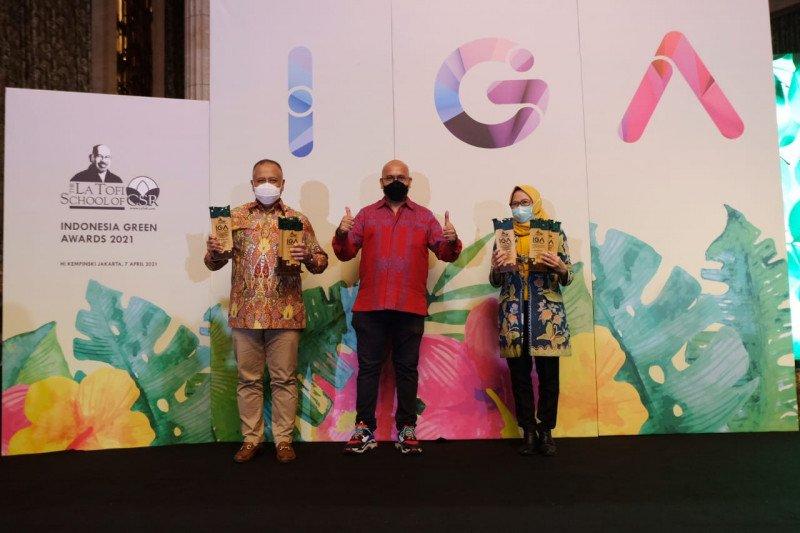 PLN Raih The Best Indonesia Green Awards 2021