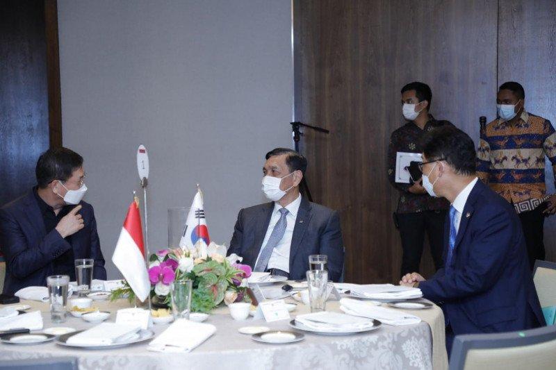 Luhut: Indonesia perkuat  hubungan kerja sama dengan Korea