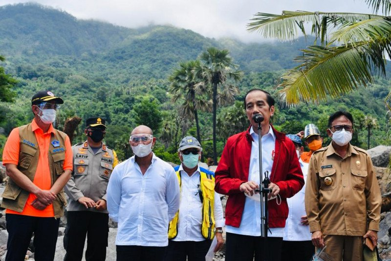 Presiden Jokowi pastikan kebutuhan pengungsi di NTT tercukupi