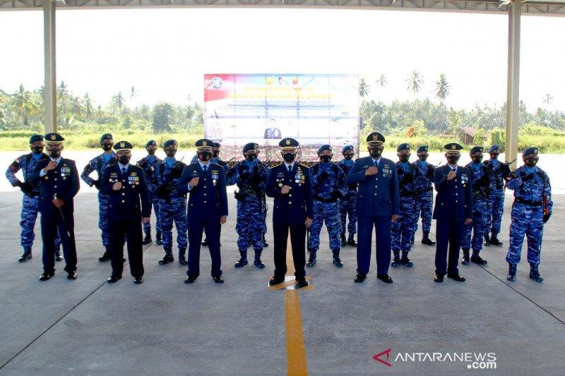 Lanudsri peringati HUT ke-75 TNI AU secara sederhana