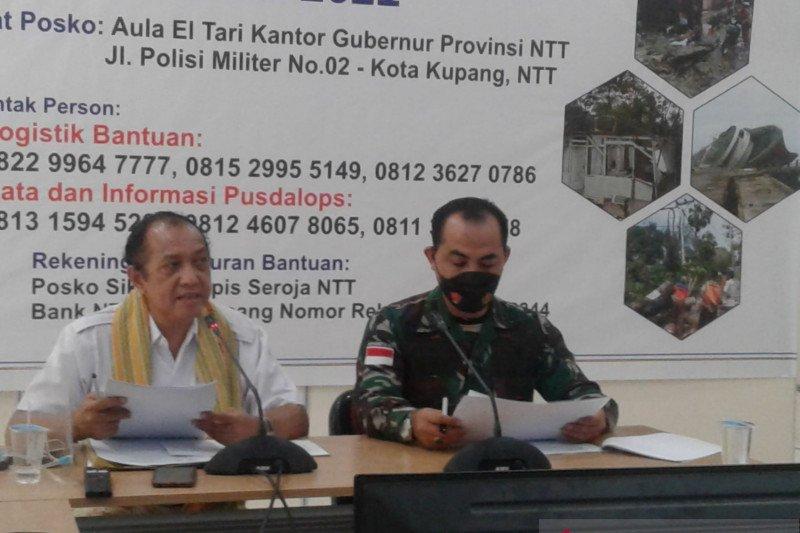 NTT catat 18 kabupaten/kota terdampak badai siklon Seroja
