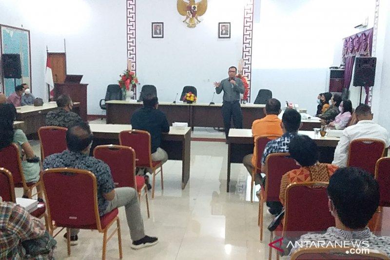 Bupati Jabes Gaghana berharap TPAKD segera terbentuk di Sangihe