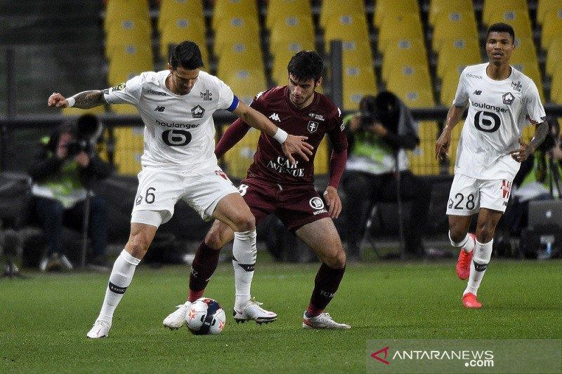 Liga Prancis - Lille akan kerahkan segalanya untuk jaga posisi puncak klasemen