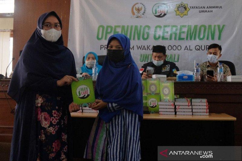 Masyarakat Muslim di Bali terima 6.000 Al-Quran wakaf