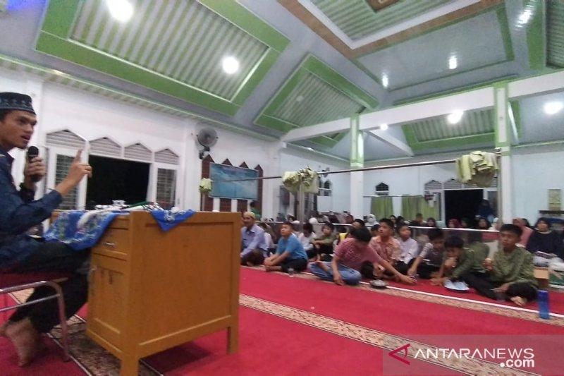 Begini cara jamaah Masjid Albadriyah Abdul Azis Agam sambut  Ramadhan