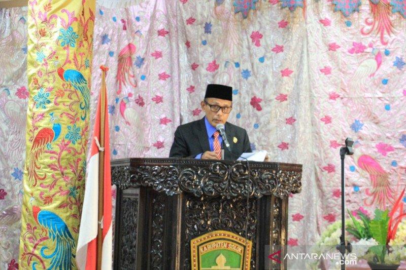 Perayaan HUT Kabupaten Solok digelar  sederhana karena COVID-19