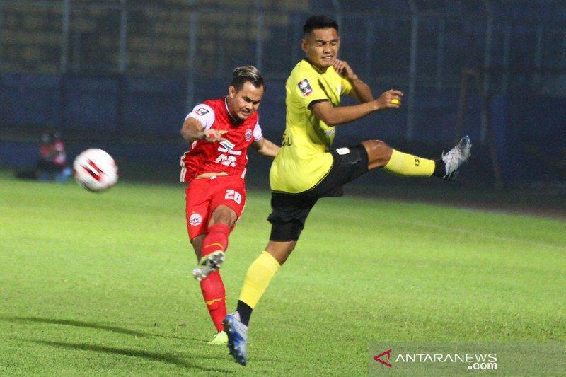Persija Jakarta ke semifinal tekuk Barito Putera