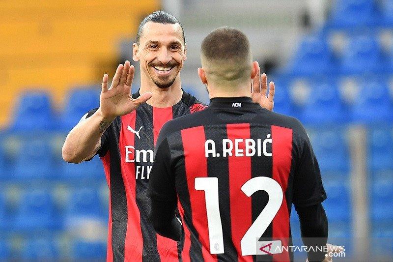 Ini Klasemen Liga Italia setelah Milan perkecil jarak dari puncak