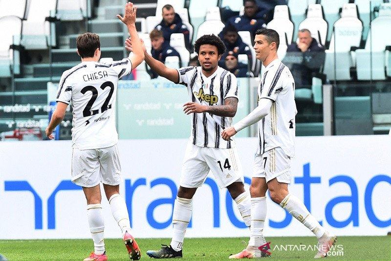 Juventus jaga harapan juara selepas  bekuk Genoa