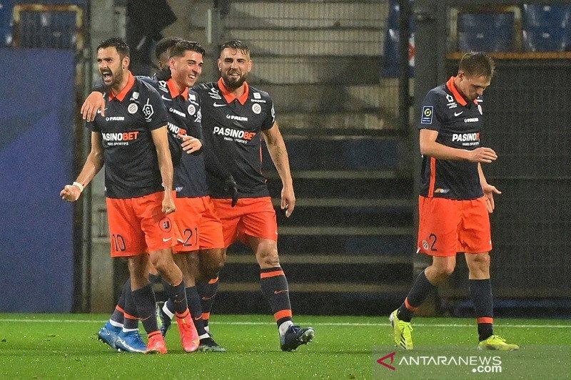 Liga Prancis - Montpellier buyarkan kemenangan 10 pemain Marseille