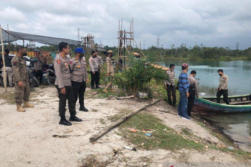 Polisi tutup penambangan timah liar di tiga kawasan Bangka Tengah