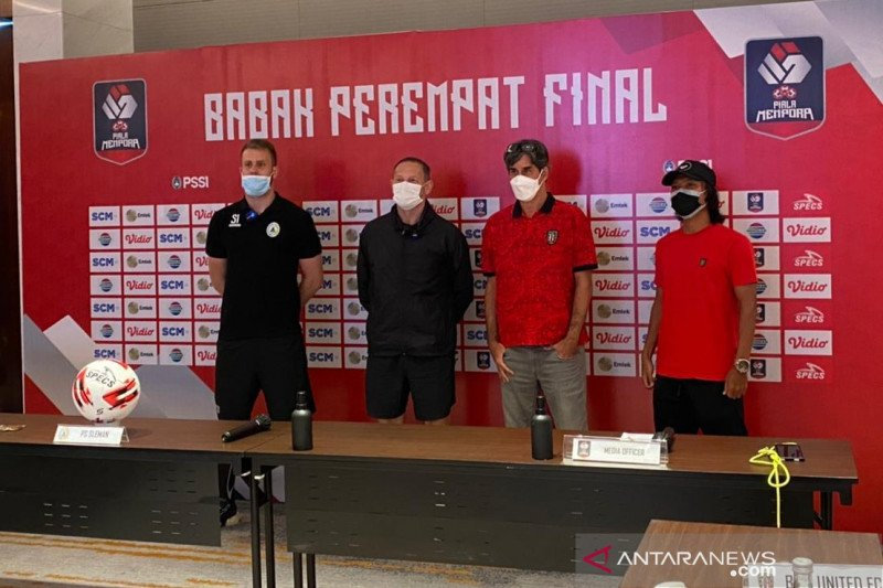 Pelatih Bali United yakin timnya lebih prima untuk hadapi PSS Sleman