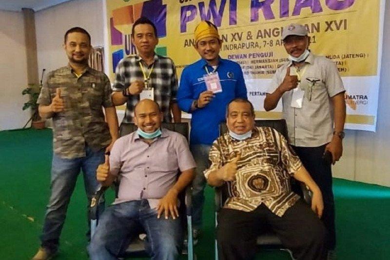 Tiga anggota PWI Bengkalis dinyatakan kompeten