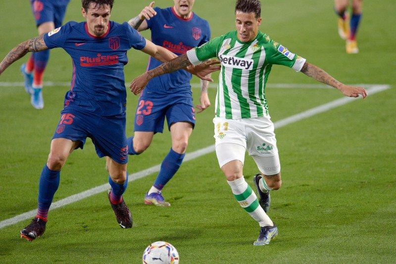 Liga Spanyol - Atletico kembali puncaki klasemen meski imbang 1-1 lawan Betis