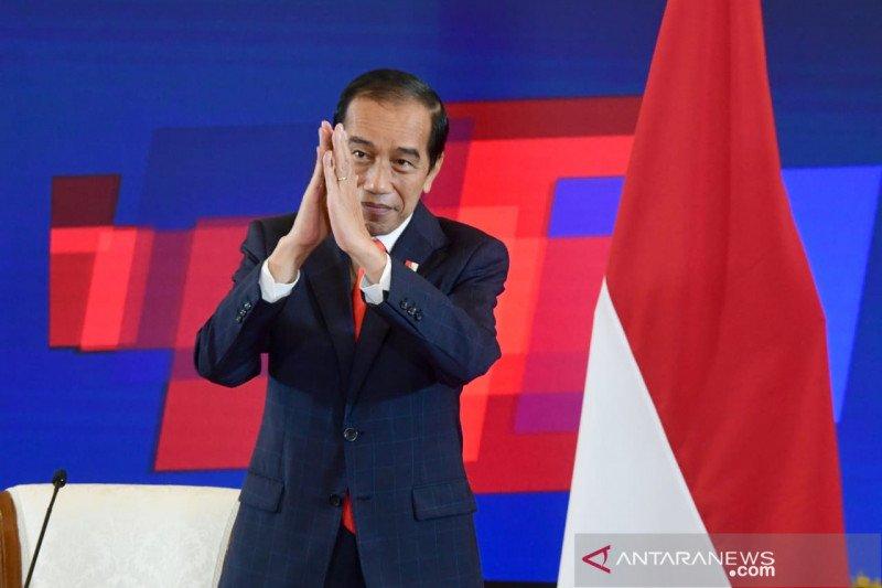 Presiden Jokowi dan Kanselir Jerman buka Hannover Messe 2021