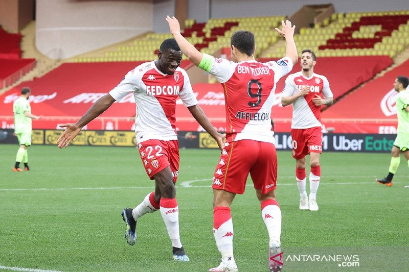Liga Prancis - Ben Yedder cetak dua gol saat Monaco cukur Dijon 3-0