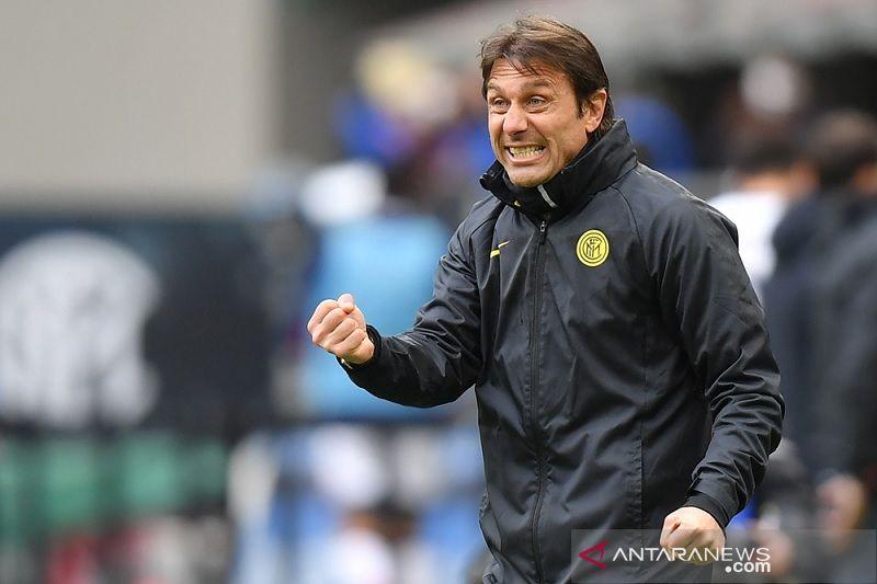 Conte bilang Inter Milan mulai terbiasa hadapi tekanan perburuan scudetto