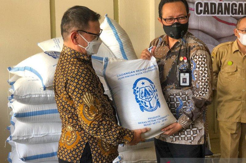 Cadangan beras Kota Yogyakarta terealisasi 26 persen