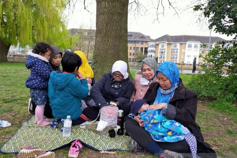 'Munggahan' ala Inggris, ruang silaturahmi  jelang Ramadhan