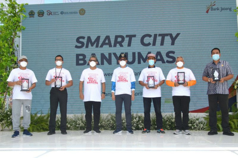 Smart City Powered by Bank Jateng, tondo tresno Bank Jateng