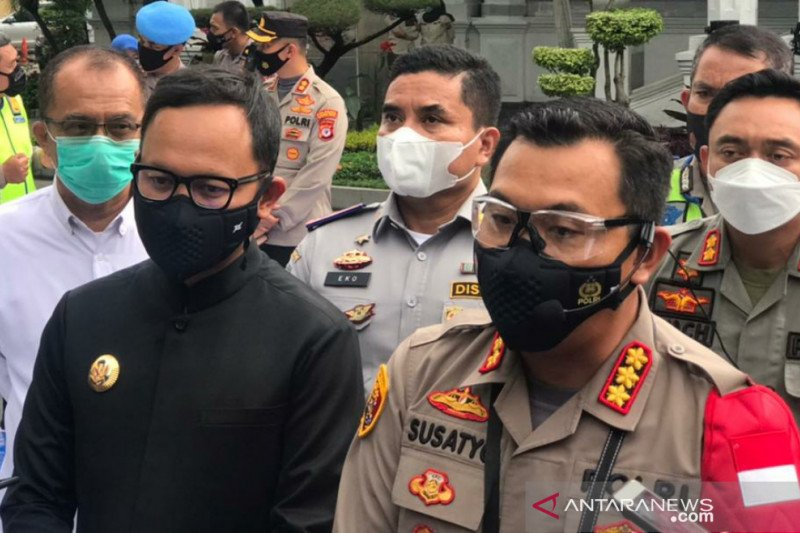 Polresta Bogor Kota siagakan 200 Polisi Ramadhan awasi prokes dan jaga masjid