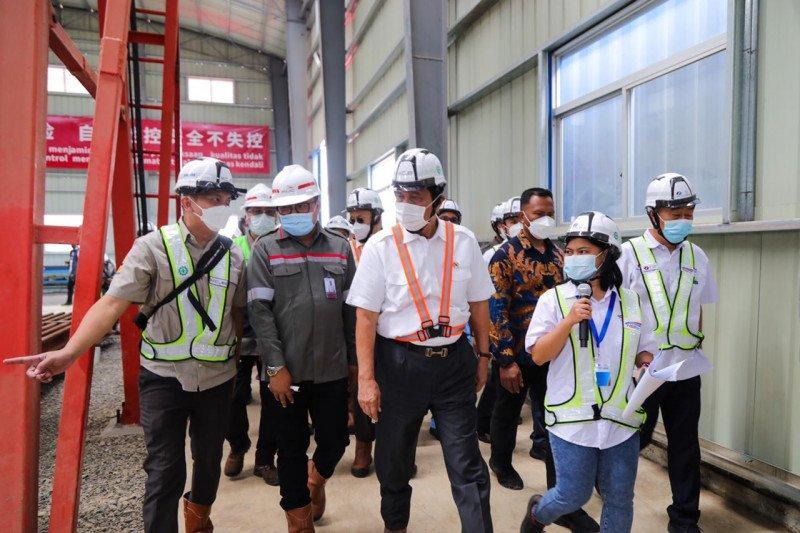 Luhut tinjau Kereta Cepat Jakarta-Bandung pastikan proyek rampung tahun 2022
