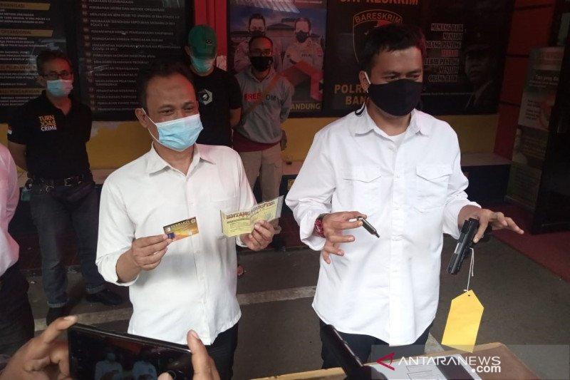 Polrestabes Bandung tangkap pemilik senjata api yang ancam warga