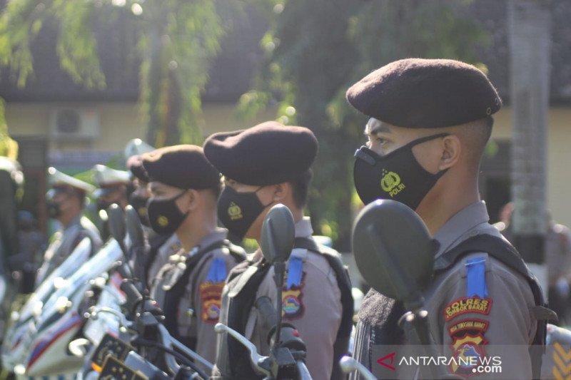 Polres Lombok Barat gelar apel pasukan Operasi Keselamatan Rinjani 2021