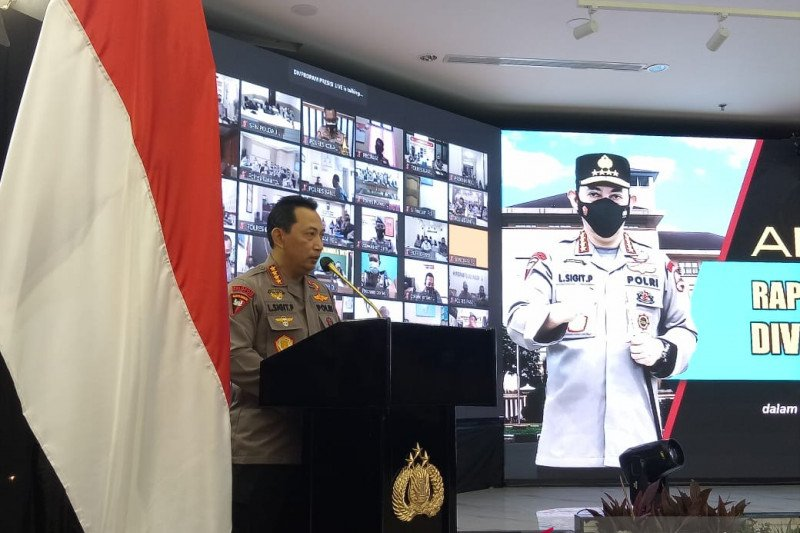 Kapolri perintahkan Propam tindak tegas anggota Polri terlibat narkoba