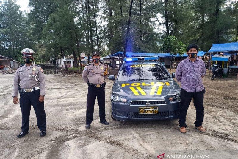 """Polisi Padang Awasi Tempat Pemandian Cegah """"Balimau"""""""