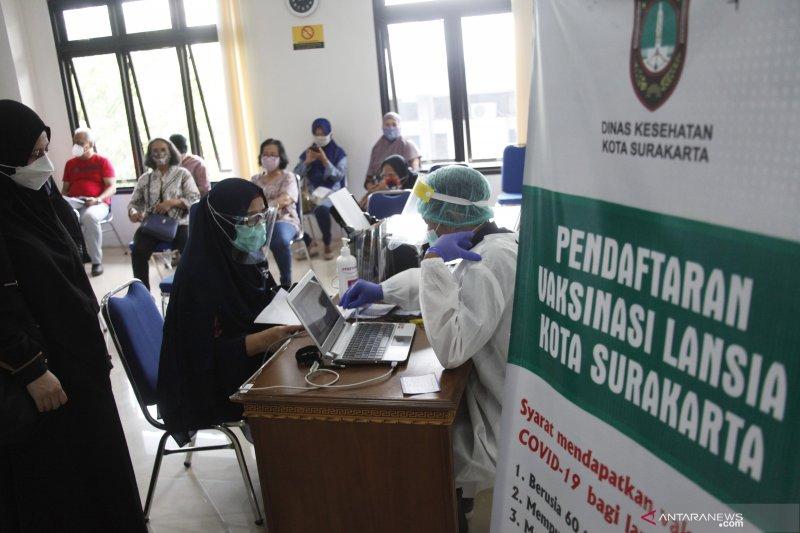 Vaksin COVID-19 telah diterima oleh 12.995.710 orang di Indonesia