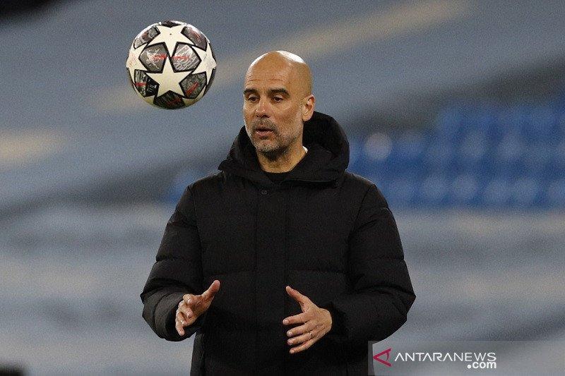 Guardiola: saya dianggap gagal bila Manchester City tidak juara Liga Champions