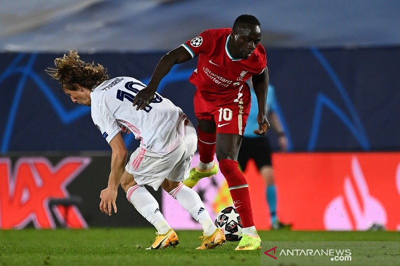 Duplikasi penampilan leg pertama jadi misi Real Madrid di Anfield