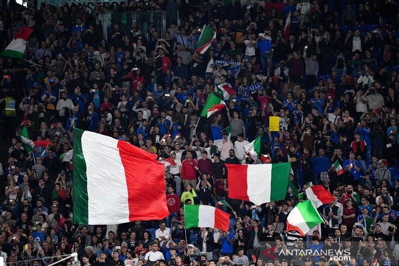 Pemerintah Italia izinkan 1.000 penonton masuk stadion mulai 1 Mei