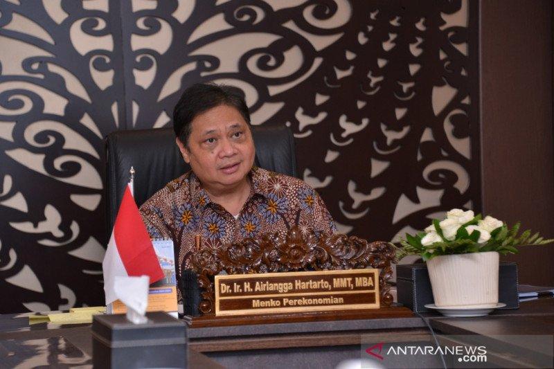 Airlangga sebut sinergi pemerintah daerah untuk pemulihan ekonomi