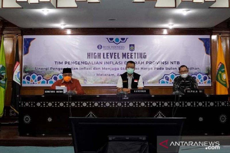 Gubernur NTB meminta TPID tingkatkan sinergi kendalikan inflasi