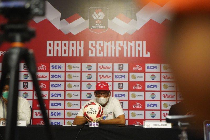 Pelatih Persija: Melawan PSM Makassar, mental lebih menentukan