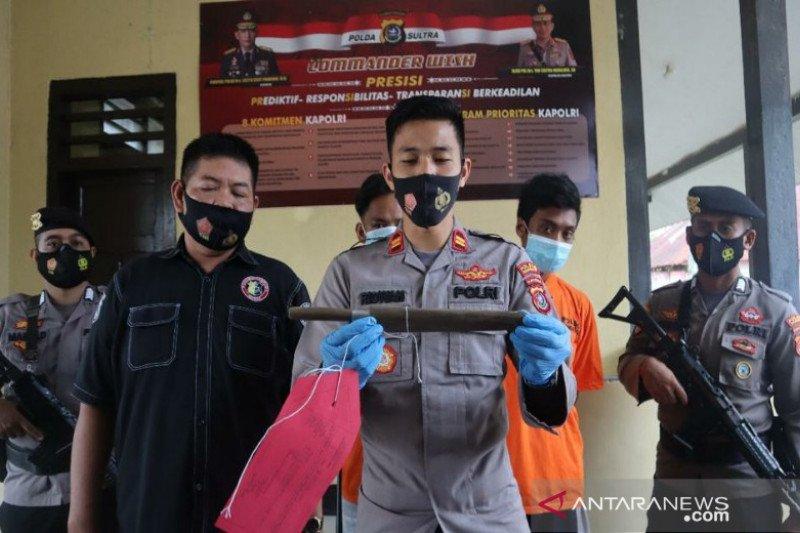 Polisi tangkap pelaku kriminal di Kendari yang menikam korbannya