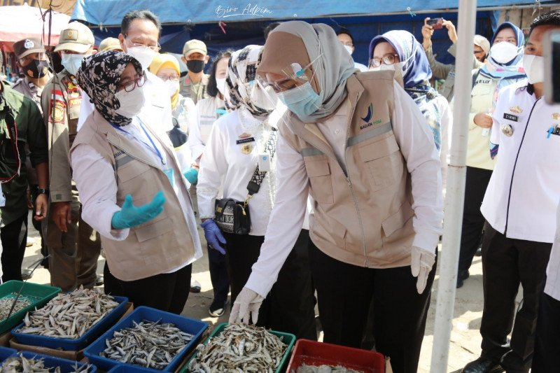 Pemprov Lampung dan BBPOM inspeksi mendadak produk pangan di pasar