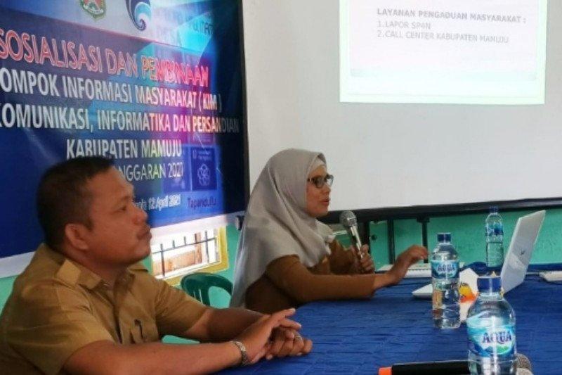 Pemkab Mamuju bina 121 kelompok informasi masyarakat