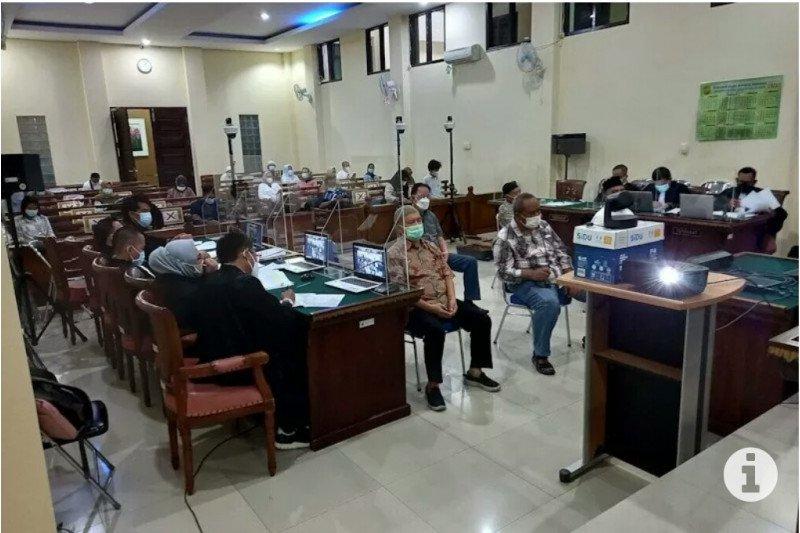 Jaksa KPK hadirkan lima saksi sidang korupsi di PUPR Lampung Selatan