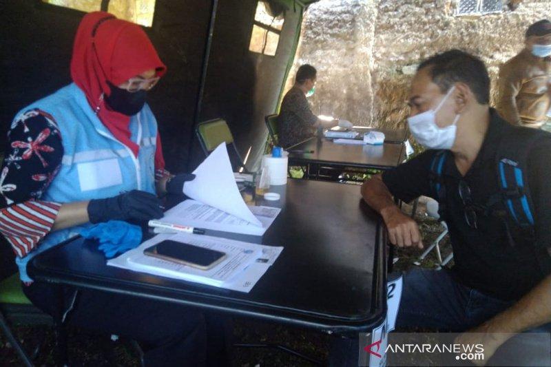 BNN Kabupaten Garut tes urine bakal calon kades