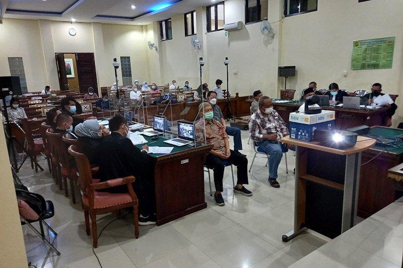 Jaksa KPK hadirkan lima saksi sidang korupsi Lampung Selatan