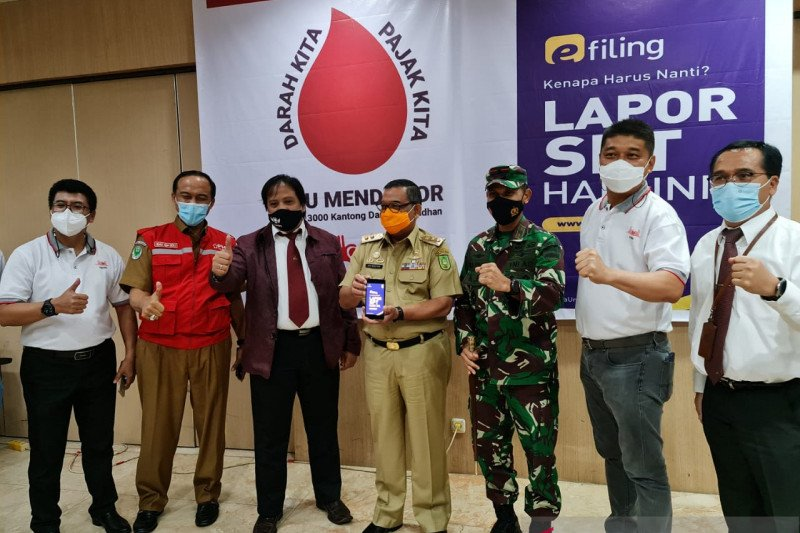 DJP sediakan layanan untuk peserta Riau Mendonor