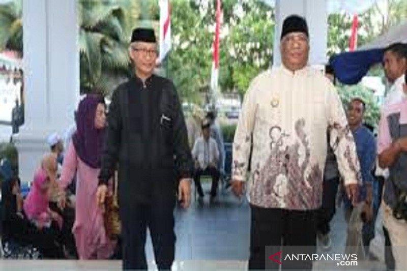 Gubernur dan Wagub Sulawesi Tenggara sepakat bagi jadwal Shalat Tarawih di daerah